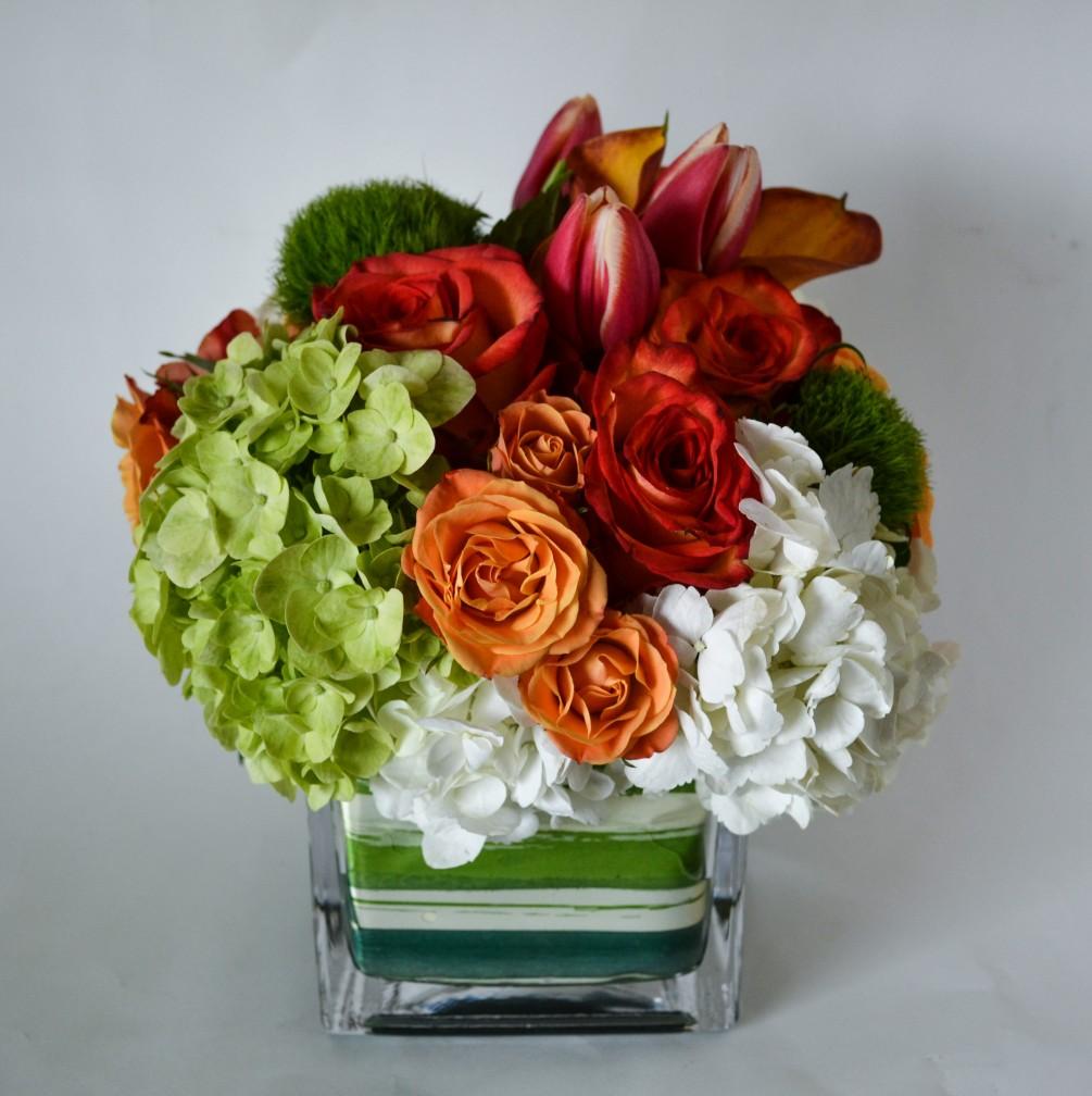 Güllerin ve Ortancaların Aşkı