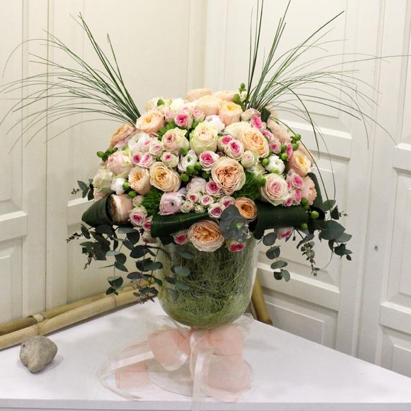 Kadeh Beyaz Güller