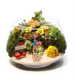 Teraryum Çiçek Bahçesi